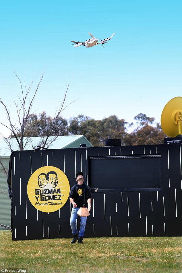 Project Wing Now Delivers Burritos By Drone In Australia