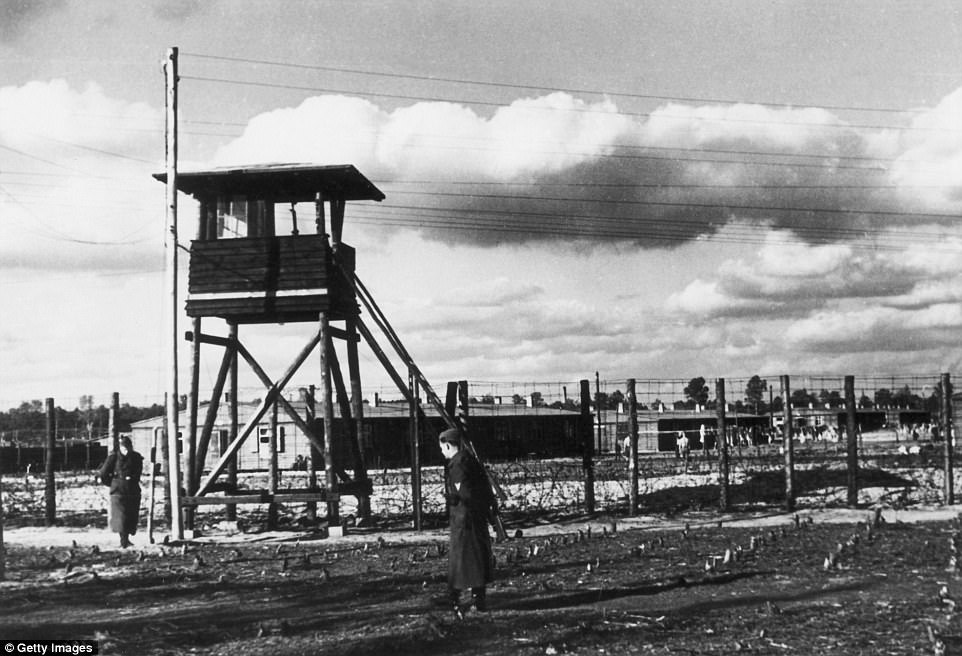 Gestapo chief Hans Ziegler ordered the killing of two pilots who has escaped from Stalag Luft III (pictured) - the scene of the film The Great Escape - to deter other escape bids. They were taken into the woods and shot
