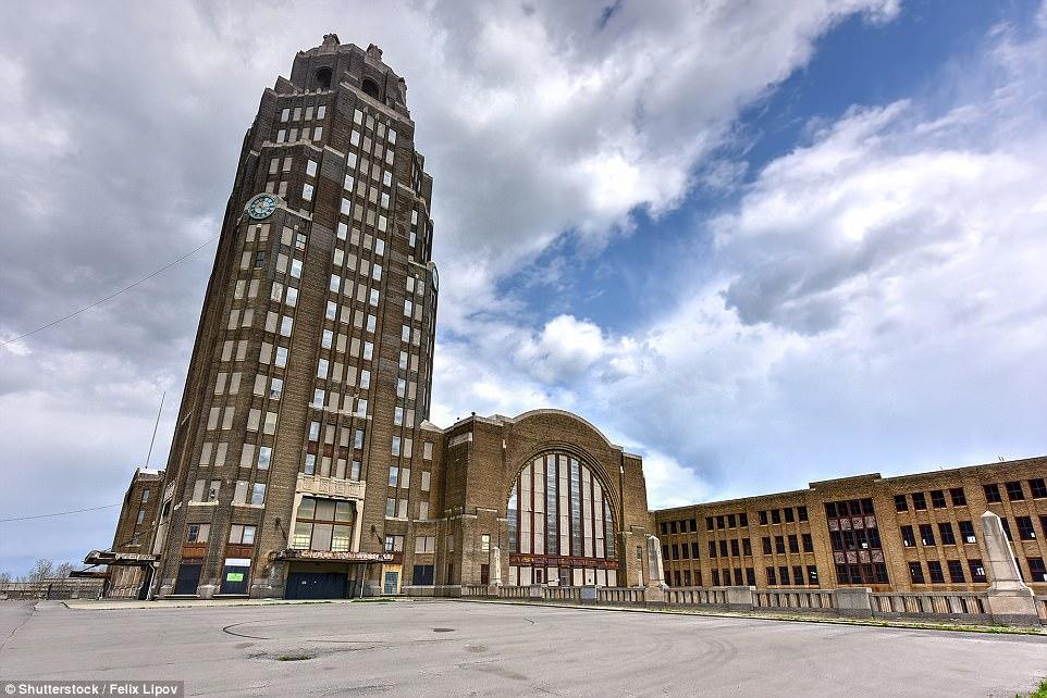 Buffalo Abandoned Train Station