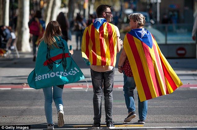 The Spanish government announced measures today it will implement in triggering Article 155