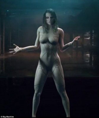 Shocker: Taylor Swift looked naked in a teaser for her new music video for ...Ready For It?