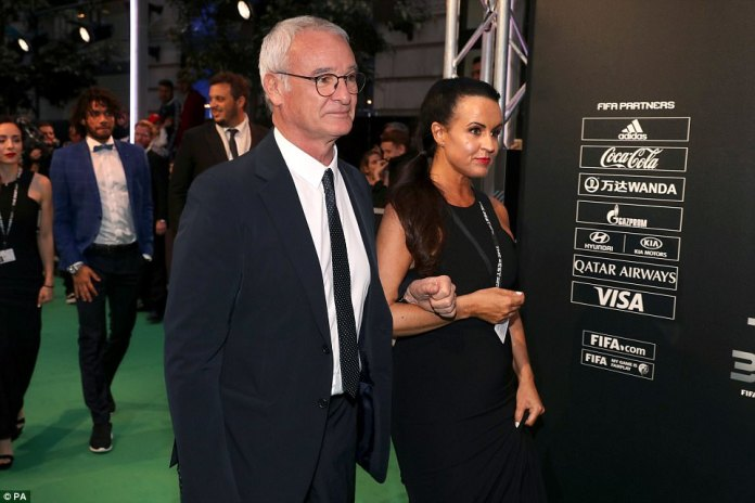 Nantes manager Claudio Ranieri has arrived at FIFA's The Best Awards following his side's 2-1 win over Guingamp on Saturday