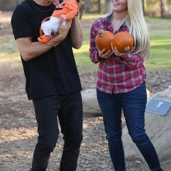Leather Chair Patch Deep Seating Patio Chairs Heidi Montag And Spencer Pratt Take Baby To Pumpkin | Daily Mail Online