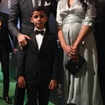 Family Affair:Cristiano Ronaldo,Pregnant Girlfriend & Son At The 2017 Best FIFA Football Awards in London