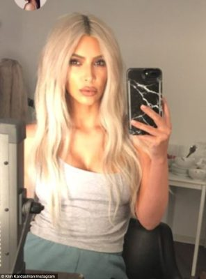 Dr. Simon Ourian? The KUWTK reality star also sported a supiciously plump upper-lip in Insta-stories for her combined 188.5M social media followers