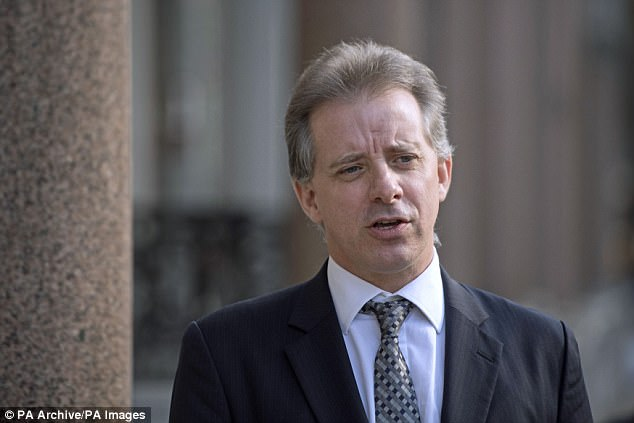 The dossier, compiled by British spy Christopher Steele, contends that the Russian government amassed compromising information about Trump