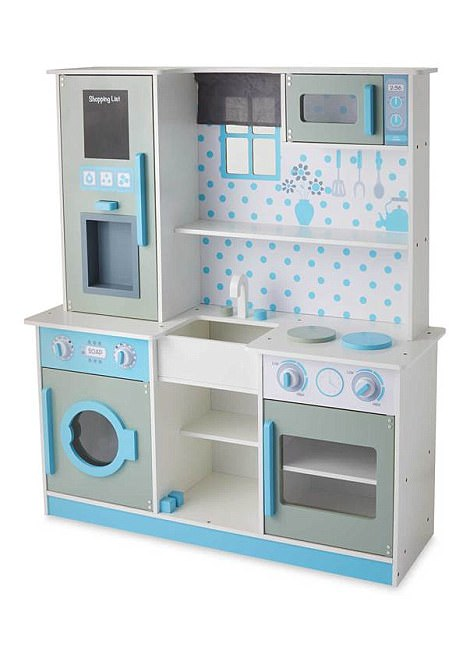 wooden toy kitchen where to buy appliances aldi launches cut price toys rival john lewis daily mail s premium costs 69 99