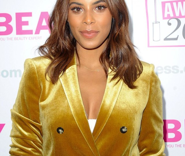 Rochelle Humes Made A Rare Solo Appearance On Thursday Night As She