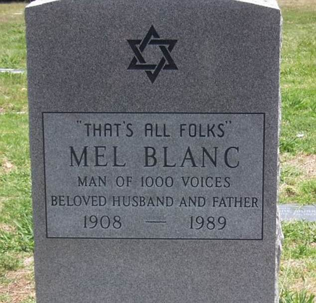 I've heard that one before: One man chose the Looney Tunes closing line as his epitaph