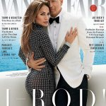 J'lo And Alex Rodriguez On The Cover Of Vanity Fair