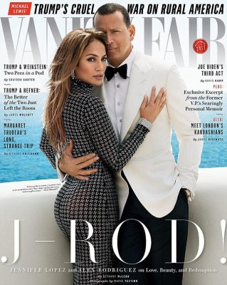 Two good: Lopez and  Rodriguez flaunted their love on Vanity Fair