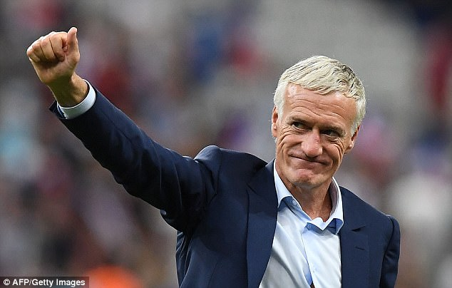 Didier Deschamps has extended his contract as France head coach until 2020