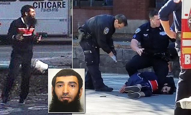 New York attack: truck terrorist left behind an ISIS flag