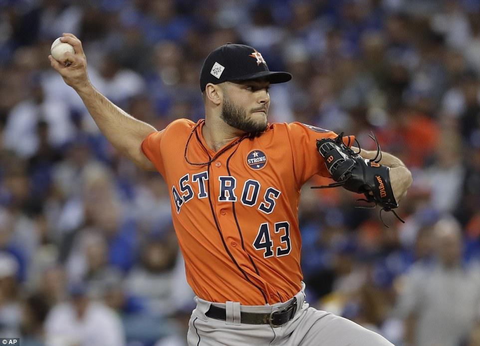 Astros take Game 7 vs Dodgers win first World Series  Daily Mail Online