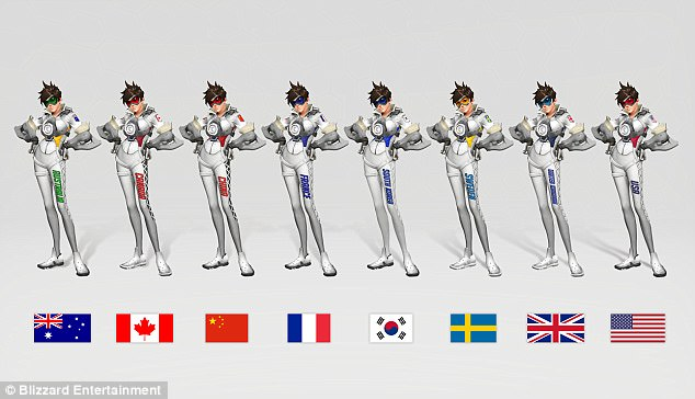 Overwatch World Cup The Team Uniforms Have Been Revealed