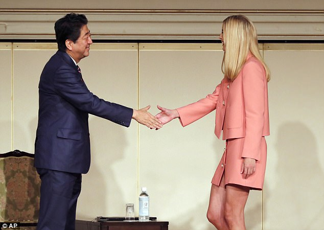 During her second official trip abroad as White House adviser, the president's eldest daughter also spoke about women participating in the economy. She saidsaid that the world must boost women and minority participation in the fields of science, technology, engineering and maths (STEM)