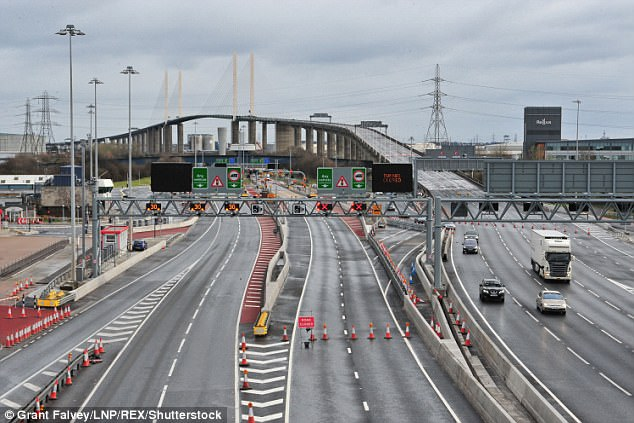 Until 2014 if you drove over the Dartford Crossing between Kent and Essex, you'd toss some coins into a basket when you reached the toll booth.