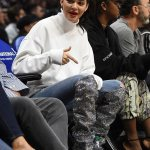 Kendall Jenner Supports Her NBA Boo In $10,000 Boots