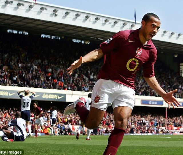 Thierry Henry Netted Goals For Fun At Arsenal With The Striker Scoring  Or More Goals