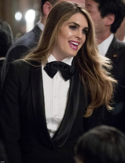 Melania Trump and Hope Hicks attend dinner in Japan ...