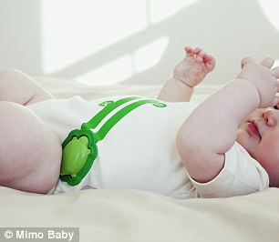 Mimo Baby's smart onesie tracks your baby's vital signs while he or she sleeps