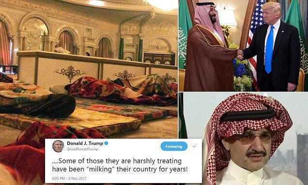 Arrested Saudi princes photographed in five-star prison