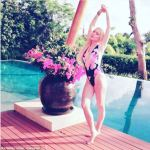 Lindsay Lohan Shares Swimsuit Photo In Thailand