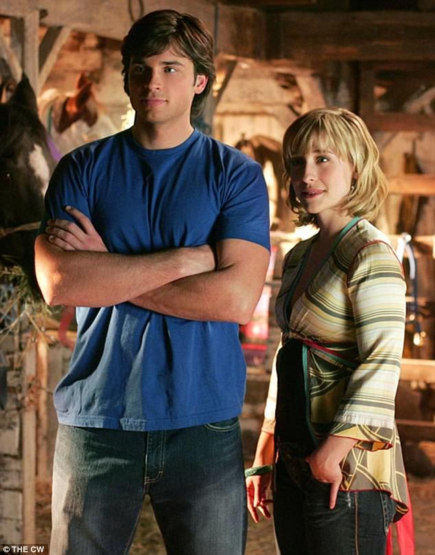 Allison Mack, right, a former star of the long-running Smallville TV series is reportedly a high-ranking member of a sex cult