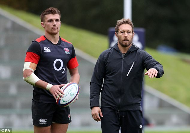 England coach Eddie Jones has selected Henry Slade to start at No 12 against Argentina
