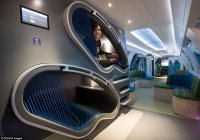 Germany unveils futuristic 'Idea Train' complete with gym ...