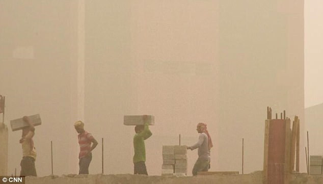 Breathing In New Delhi's Smog Is Equivalent To Smoking