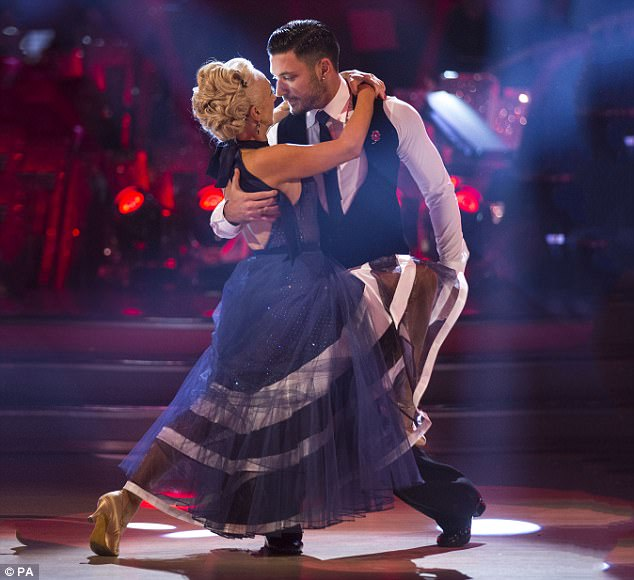 Ones to watch: Debbie and her dance partner Giovanni Pernice have wowed judges with their precise moves - and raised the eyebrows of fans with their undeniable bond
