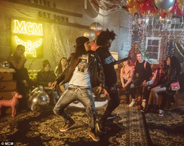 He's got skills: The identical twins take to the dance floor to show off some impressive moves
