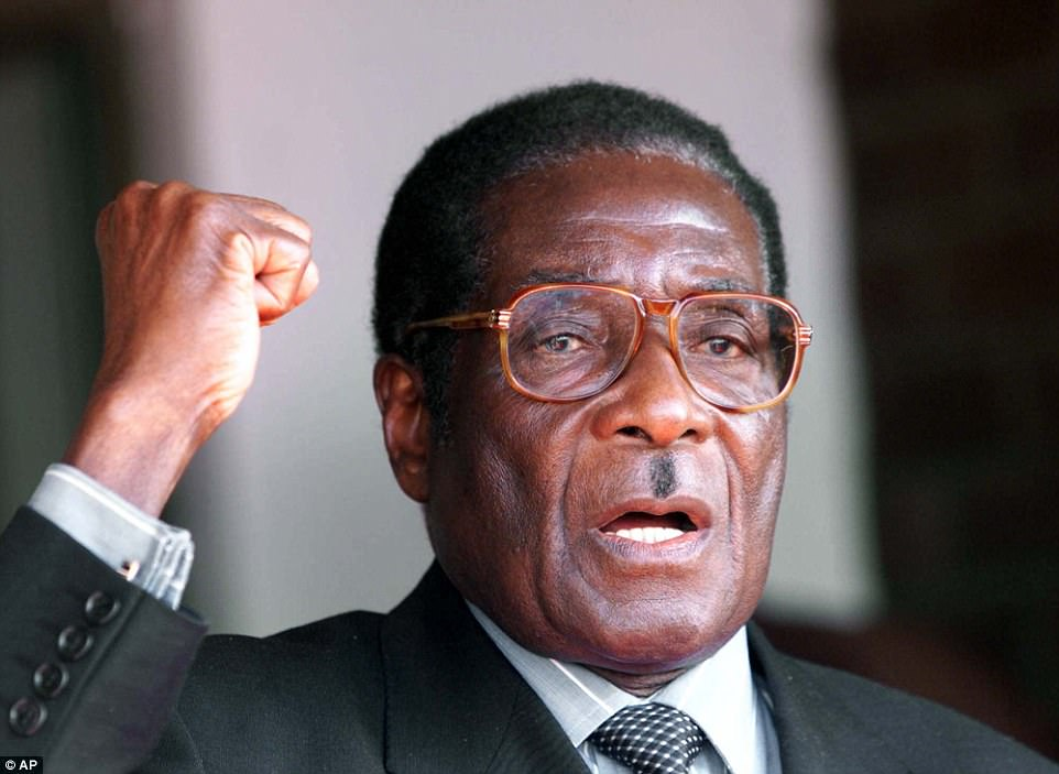 When he was 10, his father walked out on the family, and in his absence an Irish Catholic who praised opponents of the British Empire - of which Mugabe was a subject - became a major influence on his life
