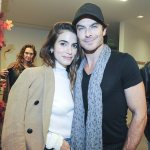 Gorgeous couple! Ian Somelhalder and Nikki Reed In California