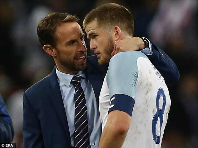 Gareth Southgate will soon name his permanent England captain and Eric Dier staked his claim