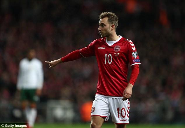 Image result for current Denmark national team 2018