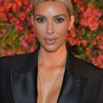 Boss Chic; Kim Kardashian In Shorts & Blazer At Bumble Bizz Launch In LA