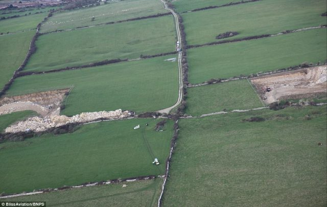 Dorset Police have taped off a field along a perilous stretch of coast known as 'Dancing Ledge' around a mile from her family home in Langton Matravers, a village just outside Swanage