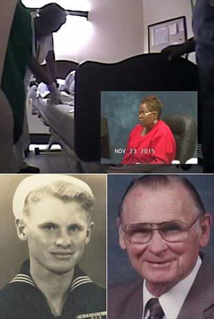 Georgia nurses laugh as WW2 veteran dies in video