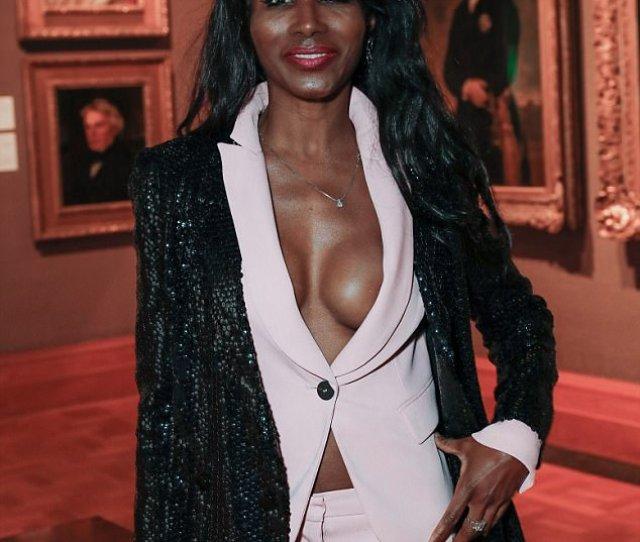 Oops Sinitta Spilled Out Of Her Sophisticated Pink Suit On Saturday Night As She