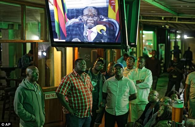 Mugabe promised to preside over a party conference in the next few weeks, despite being removed as leader earlier in the day following a vote of no confidence