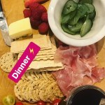 Bec Judd Shows Off Her Healthy Dinner On Instagram Daily Mail Online