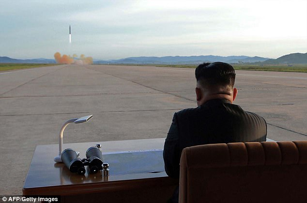 The missile launch was dictator Kim Jong-Un's first such provocation since September 15