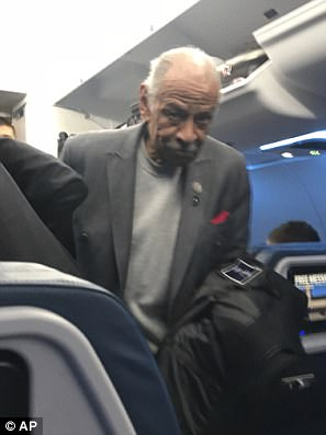 Conyers boarded a flight home to Detroit alongside his wife by on Tuesday afternoon as sexual harassment allegations against him continue to mount