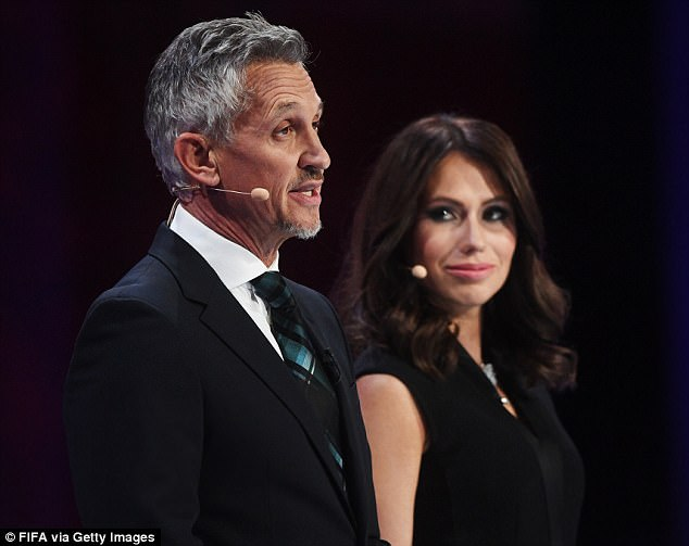 Gary Lineker is believed to have been paid £20,000 by Fifa to compere the draw ceremony – televised to millions around the world – with Russian journalist Maria Komandnaya