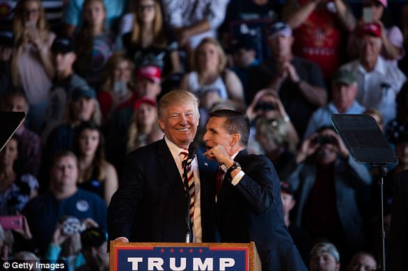 According to the information, which includes just a single count, Flynn lied just days before President Trump took office about his contacts with Russia's then ambassador to the U.S.