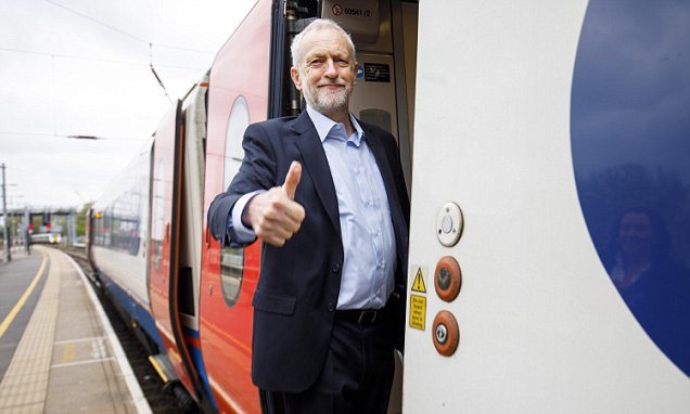 Trainline talks to Labour as Brexit raises Election fears  This is Money
