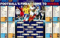 World Cup 2018 wallchart: Download your guide to Russia