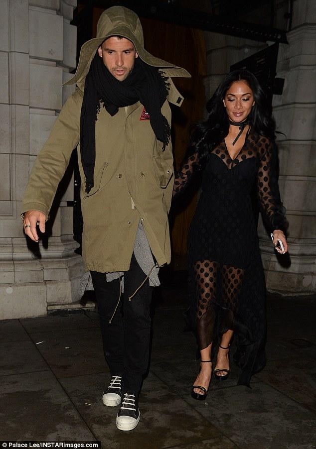 Nicole Scherzinger Enjoys Date Night With Grigor Dimitrov